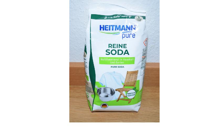 Heitmann Reine Soda zum Fenster putzen